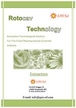 ROTOCAV Broschüre: Extraktionen aus Naturerzeugnisse durch hydrodynamische Kavitation