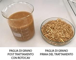 Pretrattamento paglia con cavitatore idrodinamico ROTOCAV per produzione biogas