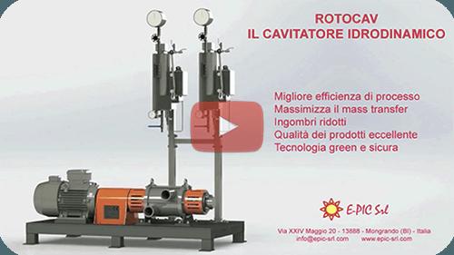 E-PIC S.r.l. - ROTOCAV cavitatori idrodinamici