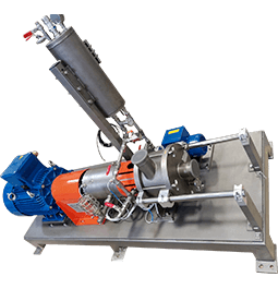 cavitatore idrodinamico ROTOCAV in versione ATEX, design compatto e camera di cavitazione ispezionabile