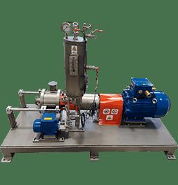 Hydrodynamischer Kavitator ROTOCAV: Extraktionen aus Naturerzeugnisse, ATEX version, inspizierbare Kavitationskammer