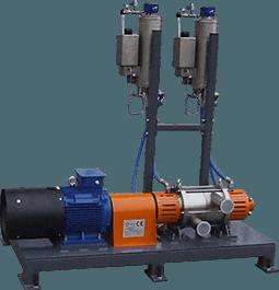 Hydrodynamischer Kavitator ROTOCAV zur kosmetischen Bereich