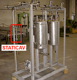 STATICAV static hydrodynamic cavitator - inline installation