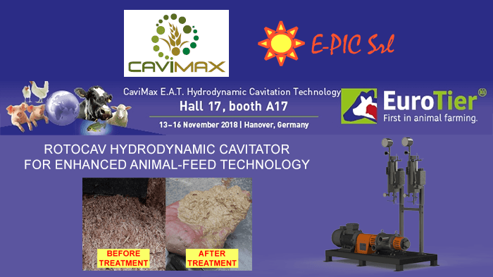 ROTOCAV at Eurotier 2018 with Cavimax