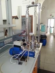 E-PIC S.r.l. - Impianto scala laboratorio di cavitazione idrodinamica